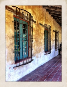Interior Hallway at Mission Santa Barbara